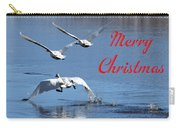 A Swan Christmas Carry-all Pouch