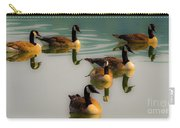 A Swim At Sunset Carry-all Pouch