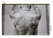 Tattooed Man Carry-all Pouch
