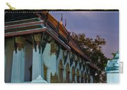 A Tempel In A Wat During A Full Moon Night  Carry-all Pouch
