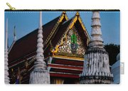 A Temple In A Wat Monestry In Tahiland Carry-all Pouch