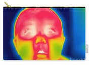 A Thermogram Of A 5 Month Old Baby Carry-all Pouch