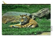 A Tiger's Gaze Carry-all Pouch by Paul Ward