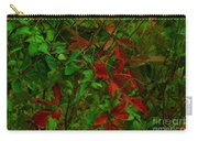 A Touch Of Christmas In Nature Carry-all Pouch