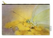 A Touch Of Yellow Carry-all Pouch by Betty LaRue