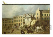A Town Scene  Carry-all Pouch by George Garrard