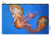 A Trio Of Jellyfish Carry-all Pouch by Kristin Elmquist