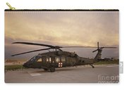 A Uh-60l Black Hawk Medevac Helicopter Carry-all Pouch