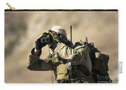 A U.s. Air Force Combat Controller Uses Carry-all Pouch by Stocktrek Images