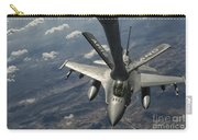 A U.s. Air Force F-16c Block 50 Carry-all Pouch by Giovanni Colla