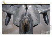 A U.s. Air Force F-22 Raptor Carry-all Pouch by Stocktrek Images