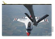 A U.s. Air Force Thunderbird Pilot Carry-all Pouch by Stocktrek Images