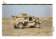 A U.s. Army Cougar Mrap Vehicle Carry-all Pouch