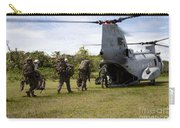 A U.s. Marine Corps Ch-46e Sea Knight Carry-all Pouch