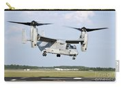 A U.s. Marine Corps Mv-22 Osprey Lifts Carry-all Pouch
