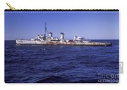 A U.s. Navy Deactivated Ship Sits Ready Carry-all Pouch