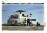 A U.s. Navy Sh-60b Seahawk Helicopter Carry-all Pouch