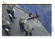 A U.s. Sailor Fires A .50-caliber M2hb Carry-all Pouch
