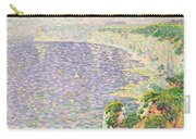 A View Of The Cliffs Of Etretat Carry-all Pouch by Claude Emile Schuffenecker