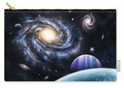 A View To A Nearby Galaxy From A Gas Carry-all Pouch
