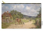 A Village Scene Carry-all Pouch