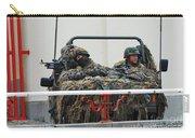 A Vw Iltis Recce Jeep On Guard Carry-all Pouch