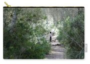 a walk about fairy wood - Mediterranean autumn forest Carry-all Pouch