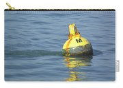 A Water Buoy In The Blue Water Of San Francisco Bay Carry-all Pouch