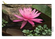 A Waterlily's Grace Carry-all Pouch