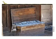 A Weathered Bench Carry-all Pouch