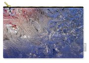 A Wintry Icy Window Carry-all Pouch