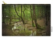 A Woodland Stream In Cades Cove No.472 Carry-all Pouch