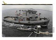 A Yokosuka Naval Tugboat Prepares Carry-all Pouch