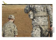 A Young Boy Joins His Squad Leader Carry-all Pouch