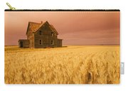 Abandoned Farm House, Wind-blown Durum Carry-all Pouch