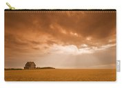 Abandoned Farm In Durum Wheat Field Carry-all Pouch