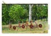 Abandoned Hay Rake 2 Carry-all Pouch