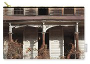 Abandoned House Facade Rusty Porch Roof Carry-all Pouch