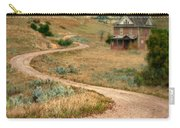 Abandoned House On Dirt Road Carry-all Pouch