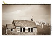 Abandoned Montana Shcoolhouse Carry-all Pouch