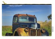 Abandoned Rusty Truck Carry-all Pouch
