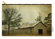 Abandoned Tobacco Barn Carry-all Pouch by Carla Parris