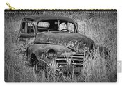 Abandoned Vintage Car Along The Roadside Carry-all Pouch