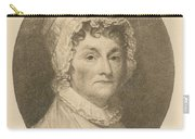 Abigail Adams Carry-all Pouch