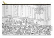 Abolition Cartoon, 1859 Carry-all Pouch