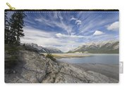 Abraham Lake Created By Bighorn Dam Carry-all Pouch