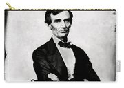 Abraham Lincoln, 16th American President Carry-all Pouch by Photo Researchers