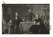 Abraham Lincoln And Family Carry-all Pouch