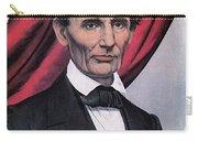 Abraham Lincoln, Republican Candidate Carry-all Pouch by Photo Researchers
