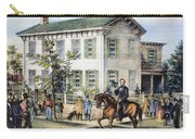 Abraham Lincolns Home Carry-all Pouch